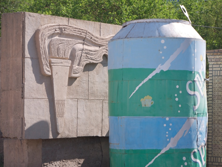 old Soviet stuff in Nukus