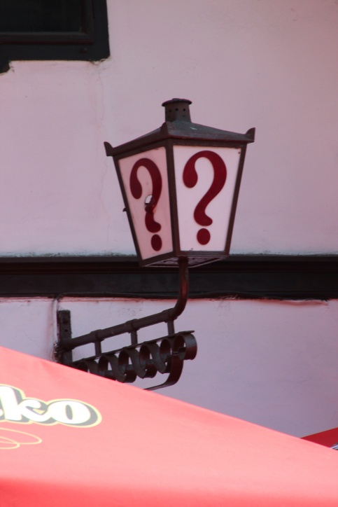 question mark kafana