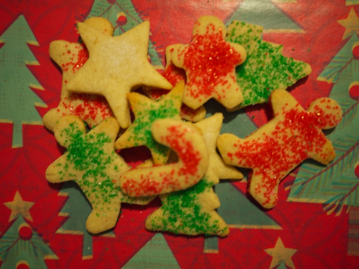 spiced sugar christmas cookies