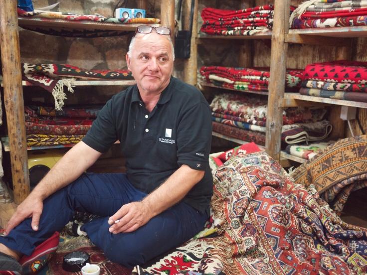 rug-seller-in-sarajevo