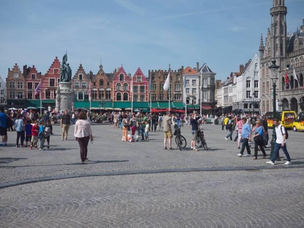 part of Bruges' Grote Markt