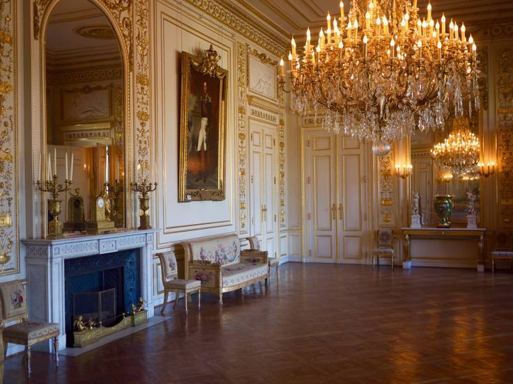 the large white drawing room